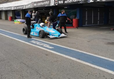 Iñaki Arrías se prepara para su debut en la Fórmula 3 Metropolitana